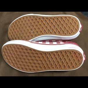 Vans Shoes - Vans Red Checkered Old Skool Skate Shoes